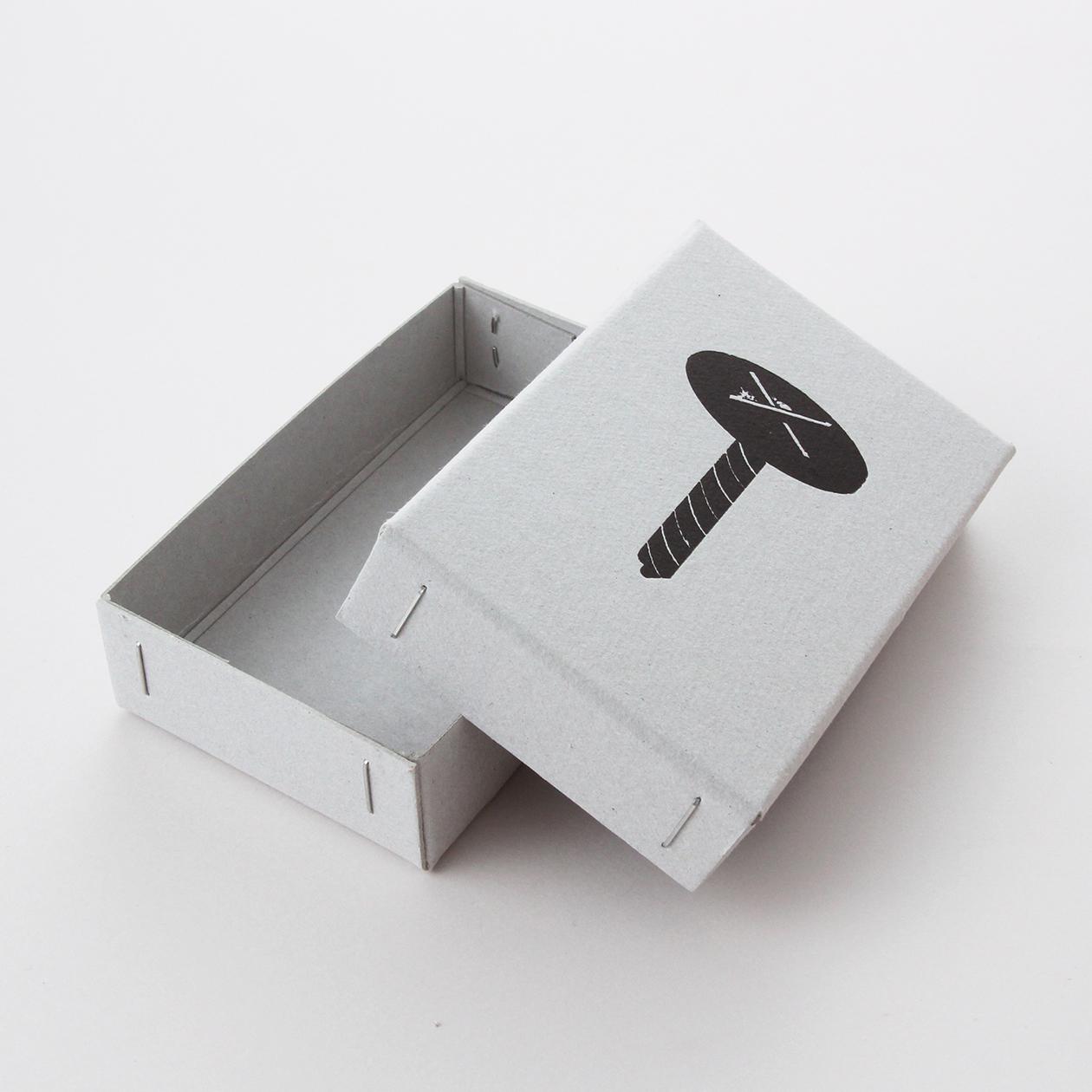 サンプル 箱(ホッチキスどめ) 00034