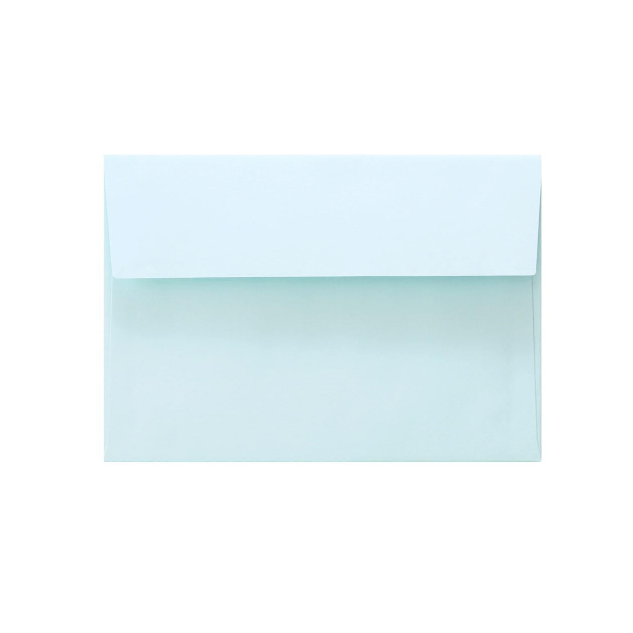 洋2カマス封筒 上質カラー ブルー 90.7g