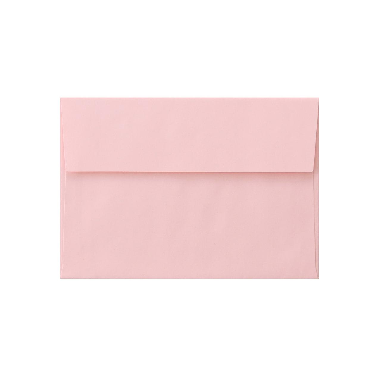 洋2カマス封筒 上質カラー ピンク 90.7g