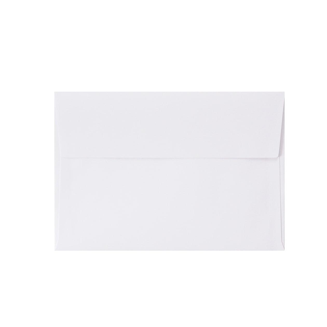 洋2カマス封筒 上質カラー ホワイト 90.7g