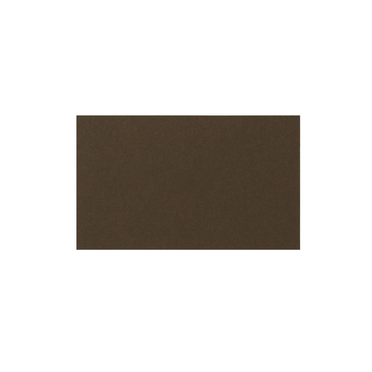 ネームカード 二層合紙ペールブルー×チョコレート
