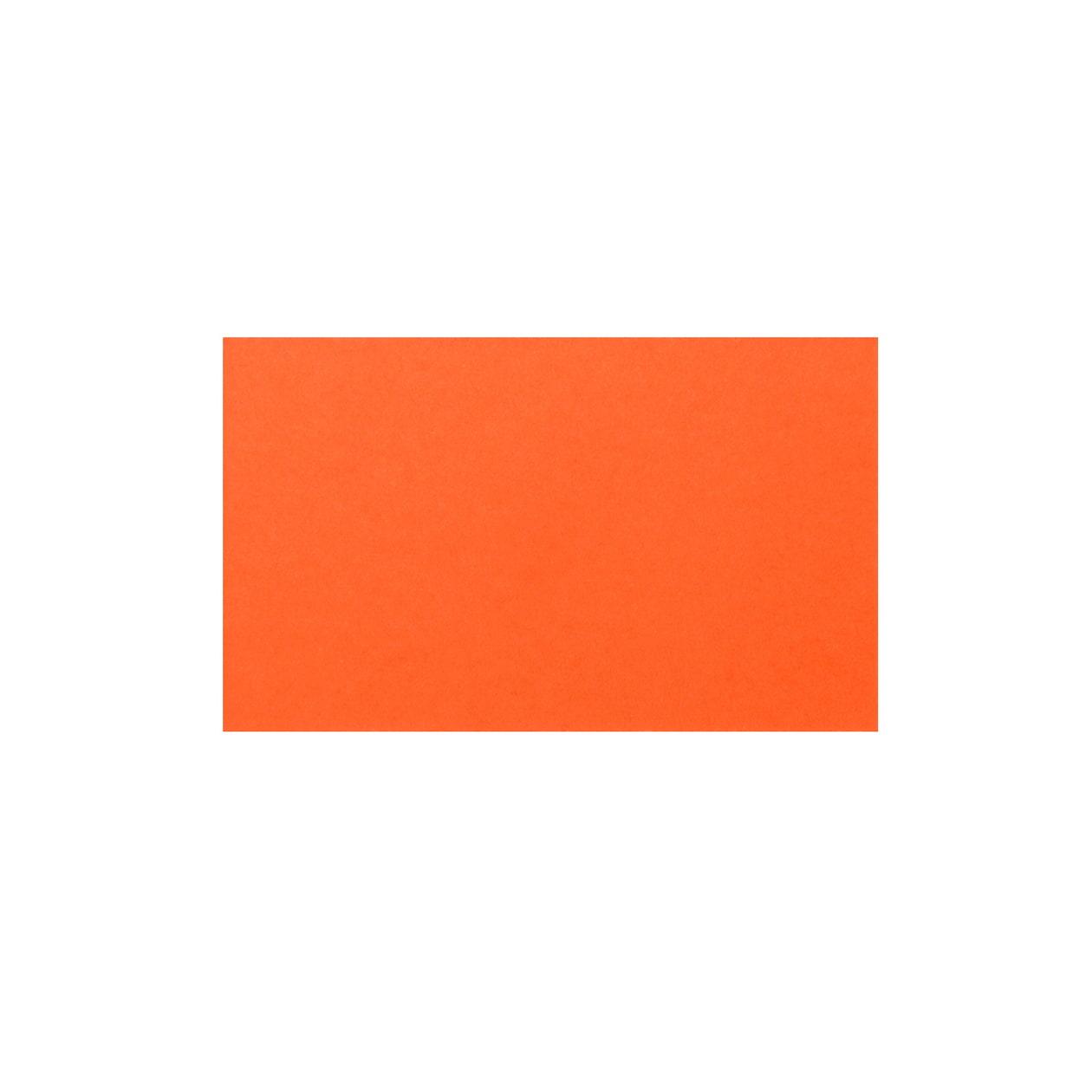 ネームカード 二層合紙ブラウン×オレンジ