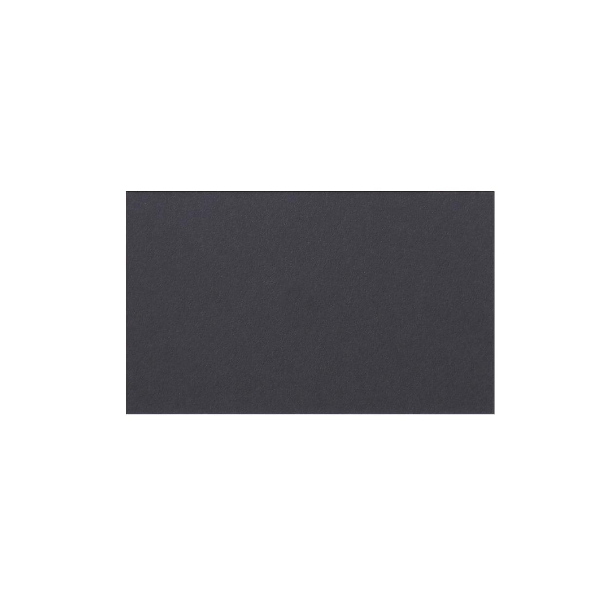 ネームカード 二層合紙グレー×ミッドナイトブルー