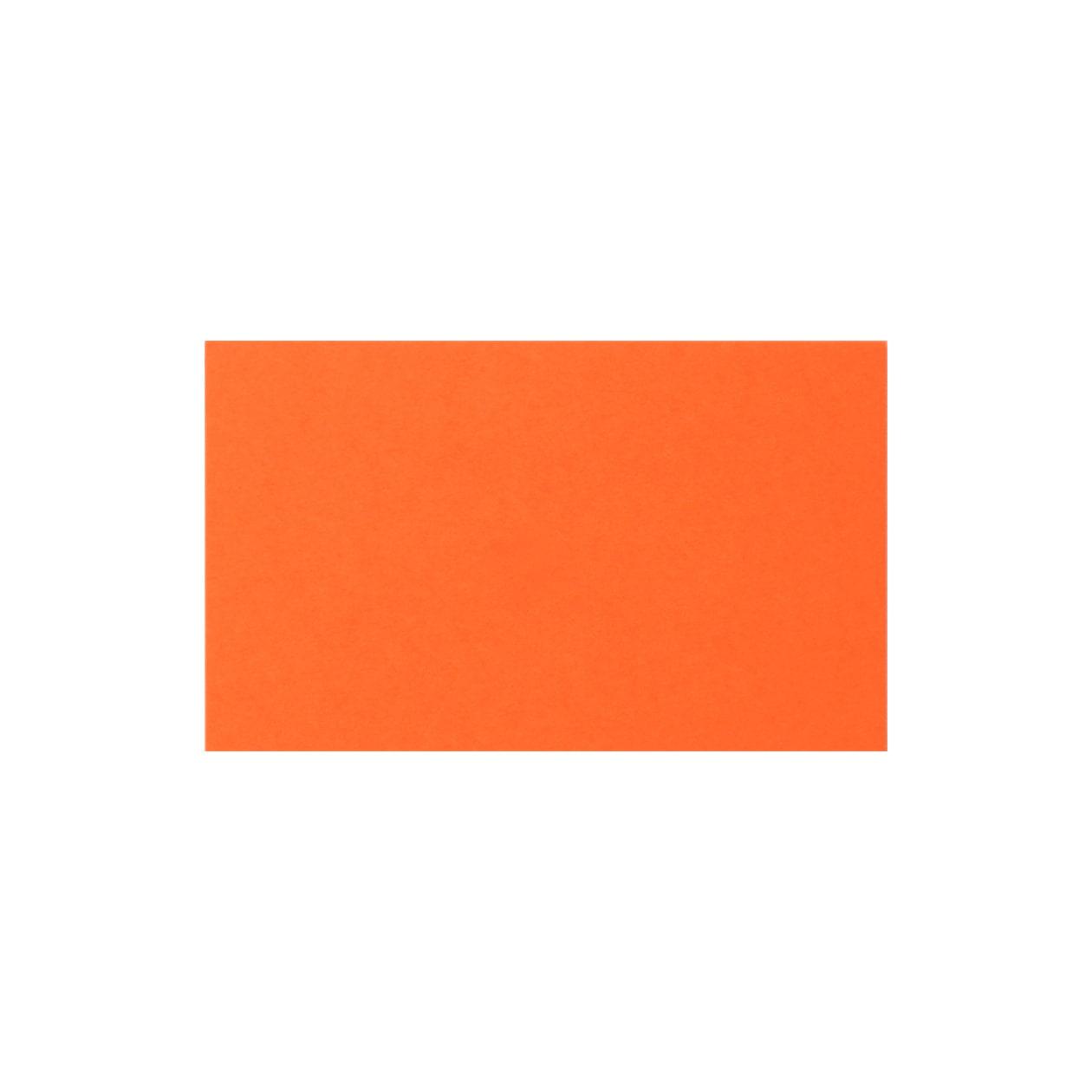 ネームカード ボード紙 オレンジ 465g