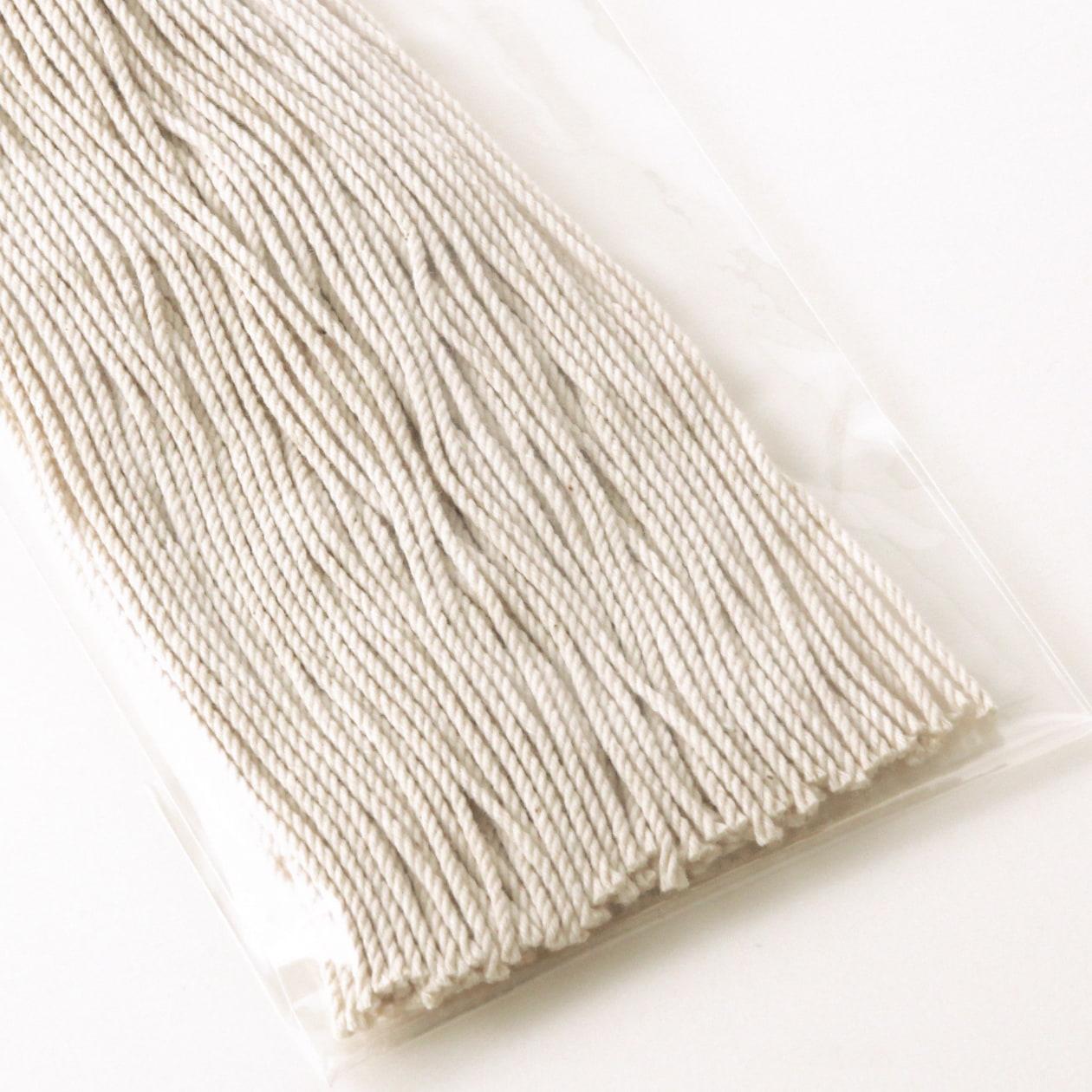 タグ紐 (太)コットン生成30cm 1パック/約100本入