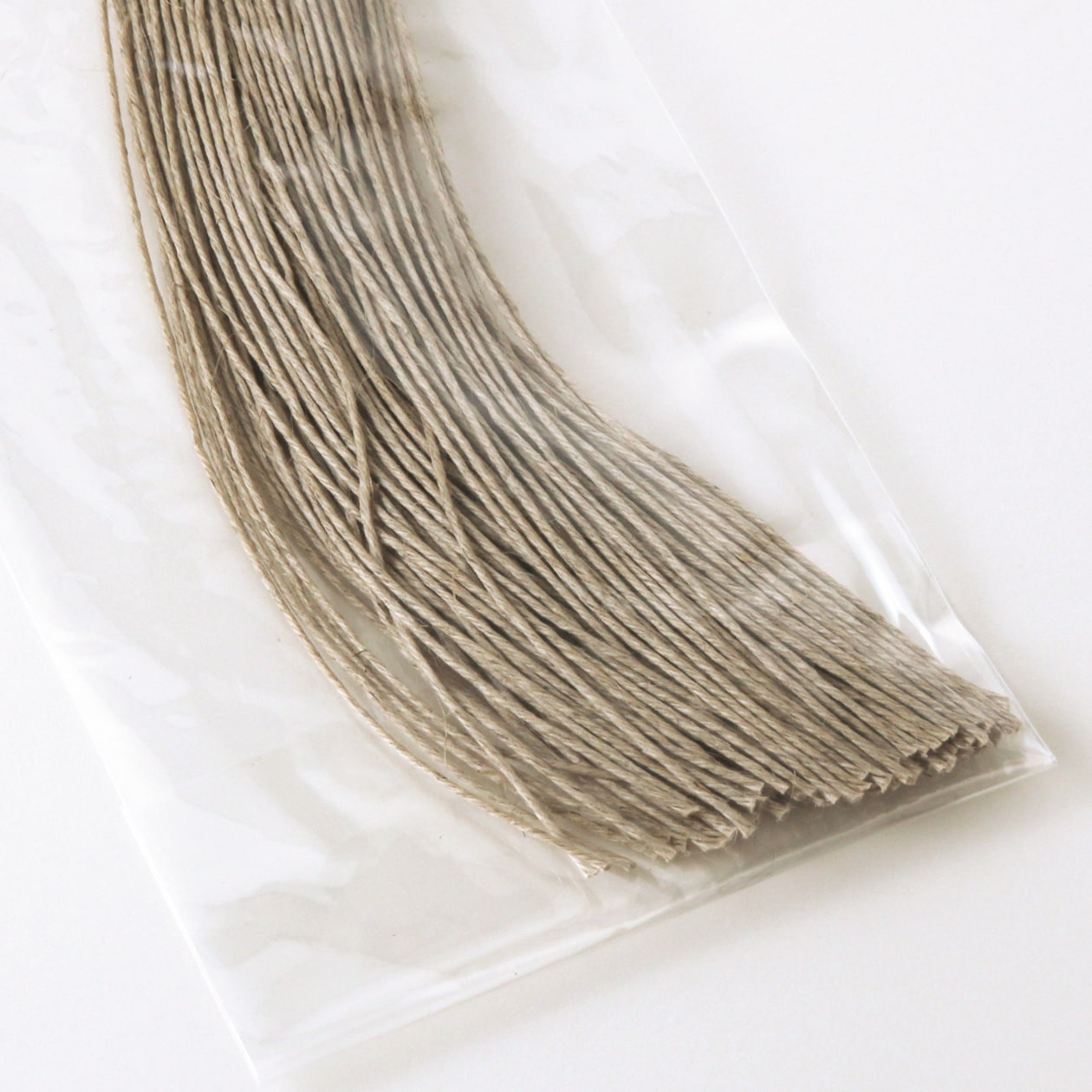 タグ紐 (細) 麻 30cm 100本入