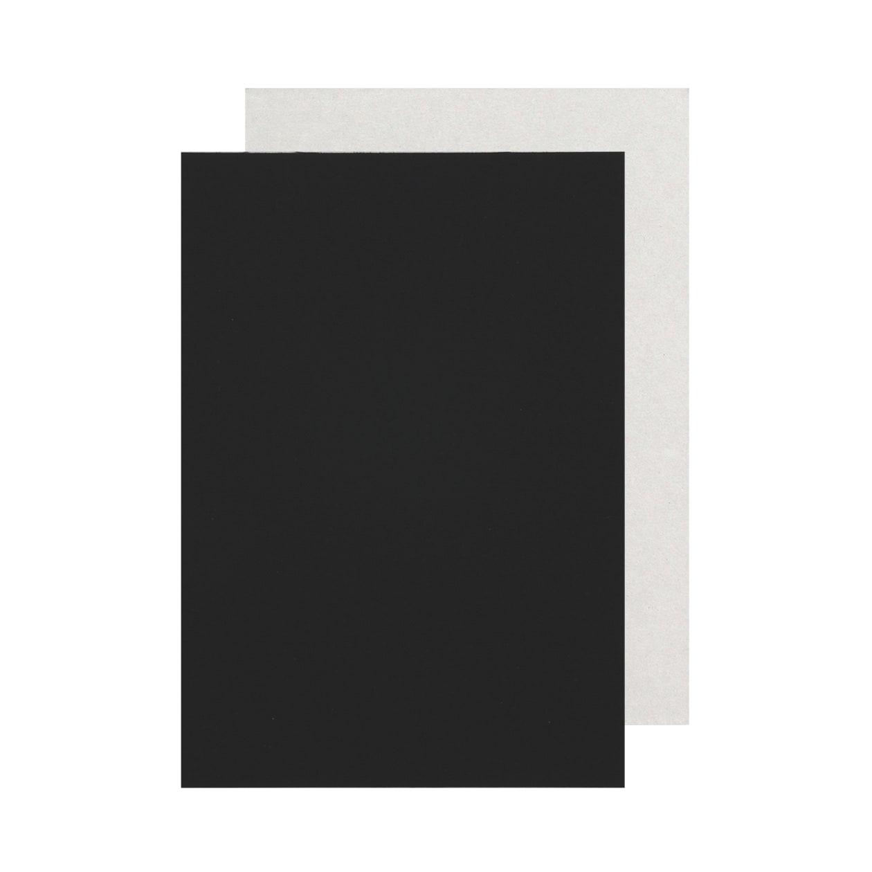 Pカード 細布 ブラック×グレー