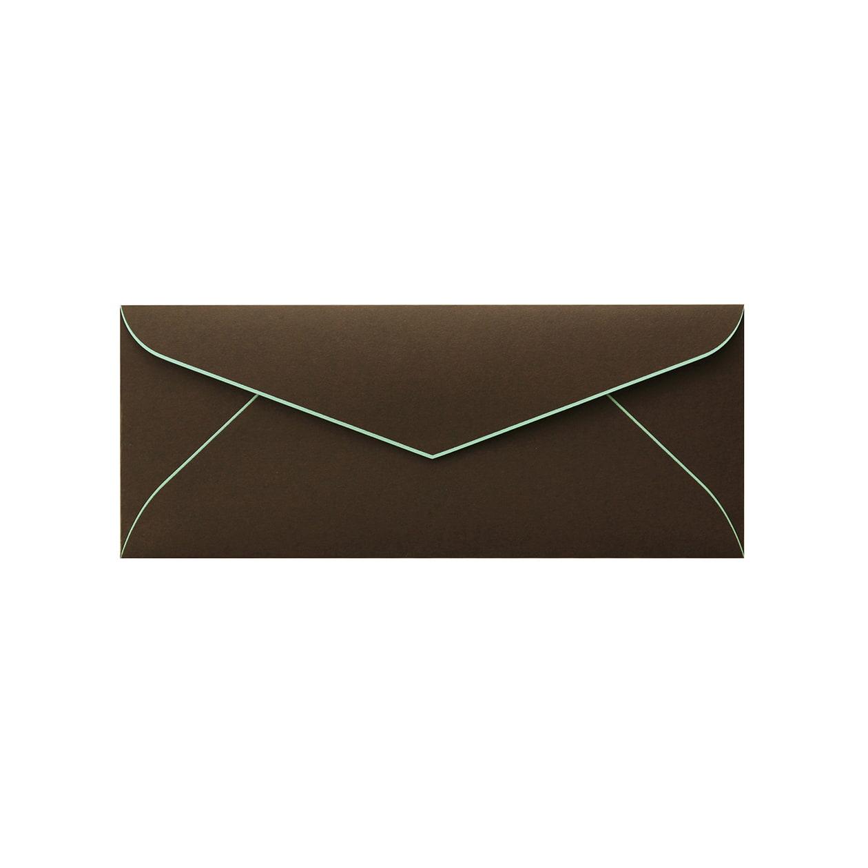 DLSダイア封筒 コットン チョコレートBDミント 116.3g