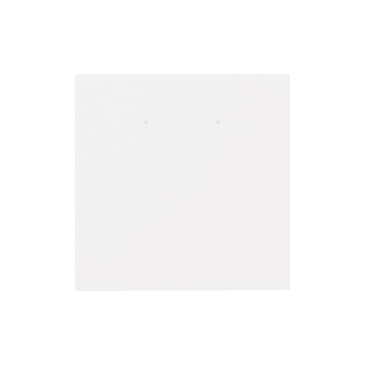 ピアス台紙 90×90上20mm コットンスノーホワイト 348.8g