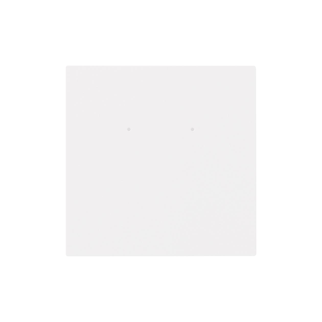 ピアス台紙 90×90上30mm コットンスノーホワイト 348.8g