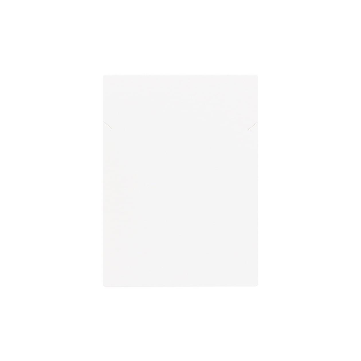 ネックレス台紙 65×90 コットンスノーホワイト 348.8g