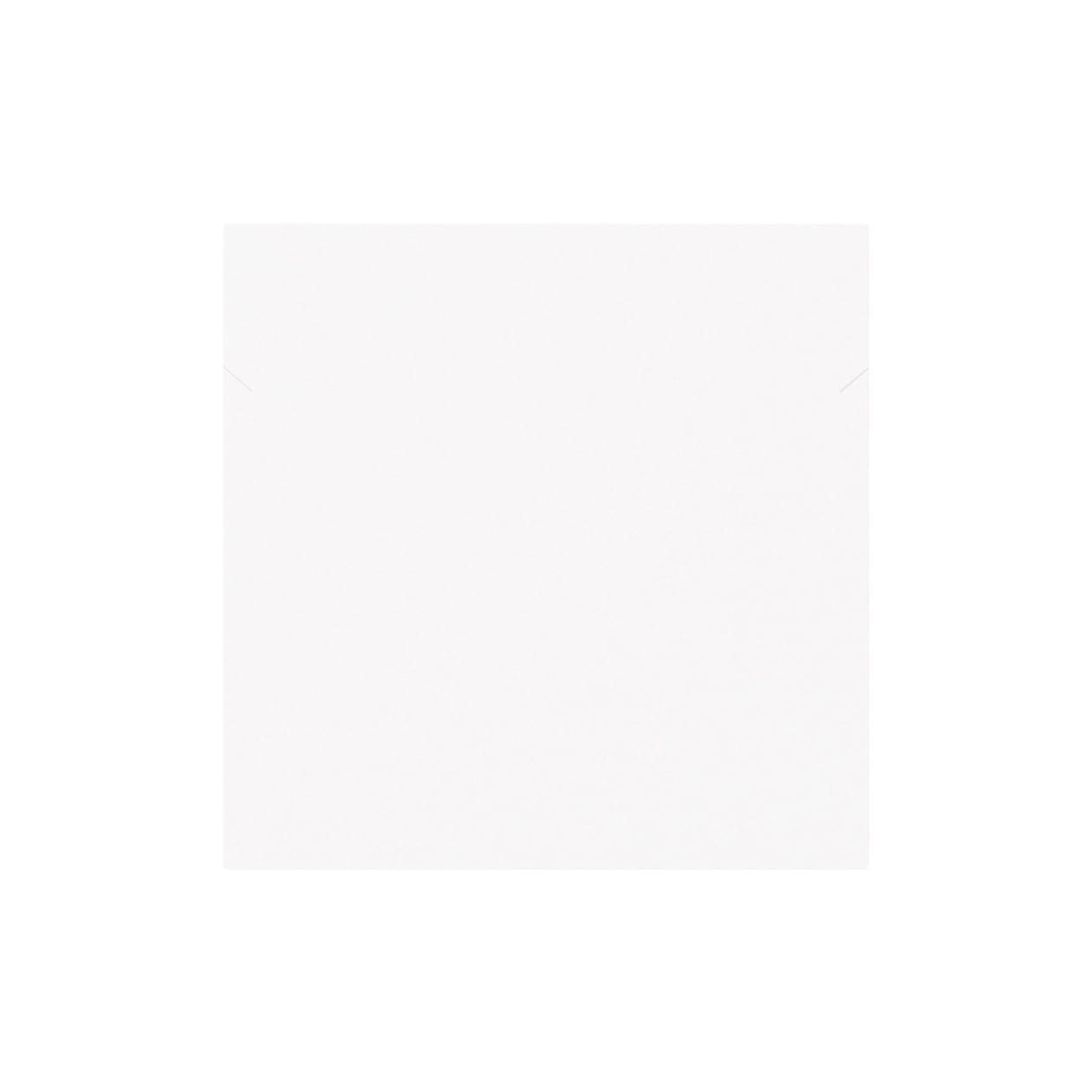 ネックレス台紙 90×90 コットンスノーホワイト 348.8g