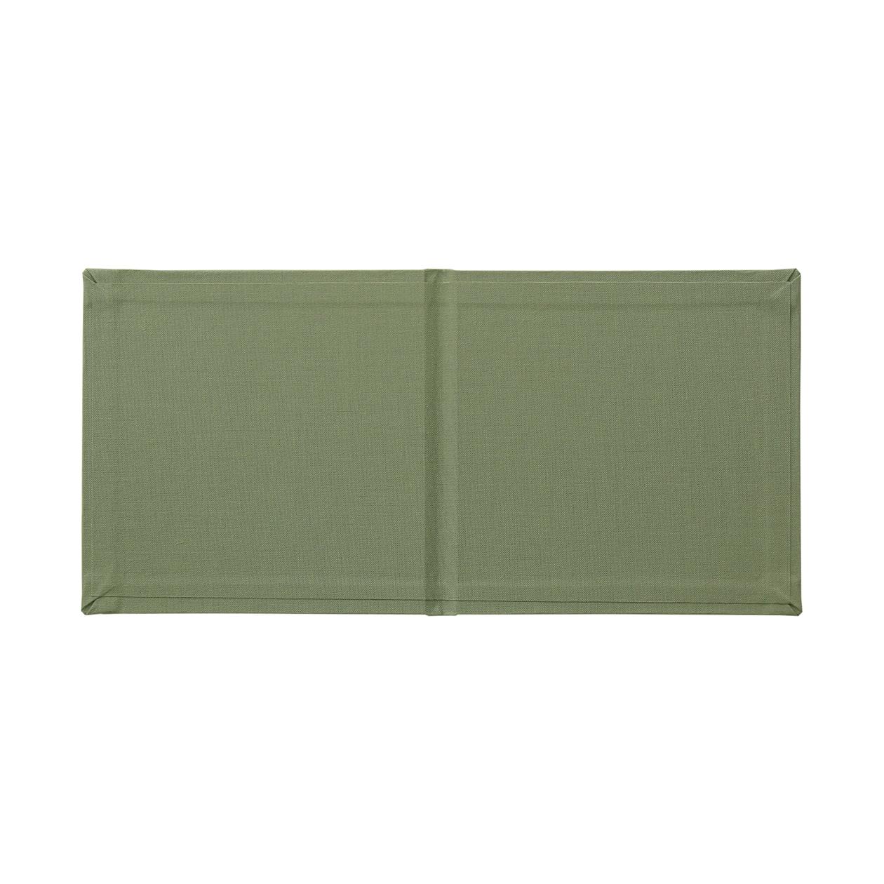 140×140カバー クロス モスグリーン