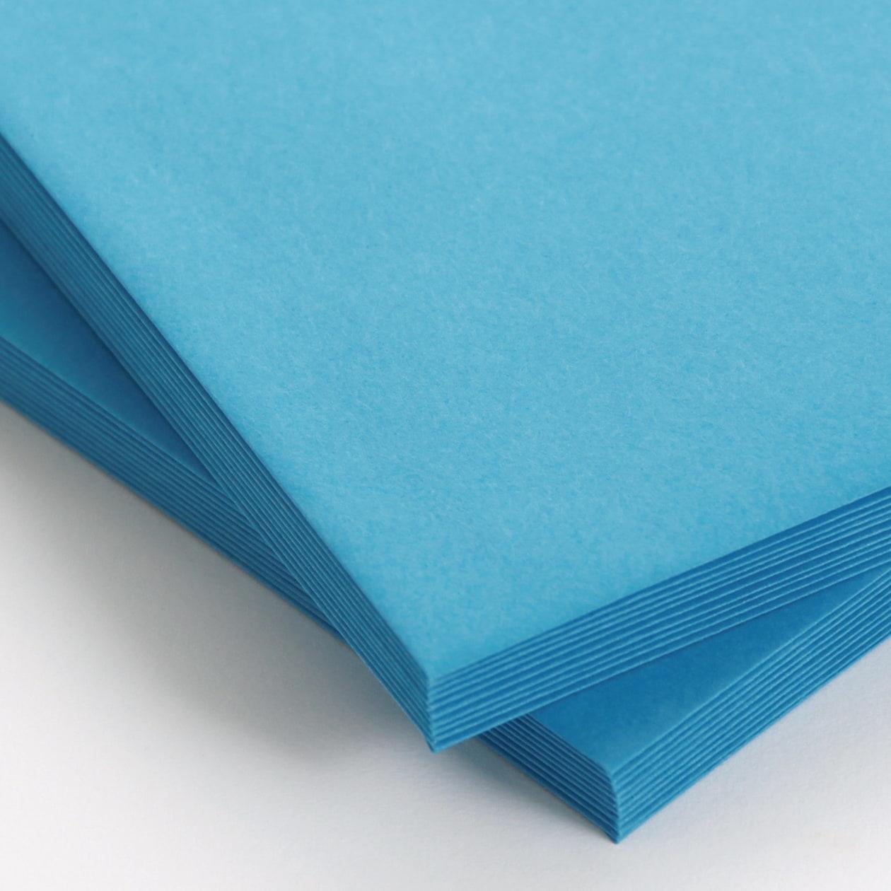 角2はこ貼封筒 コニーカラー ブルー 120g