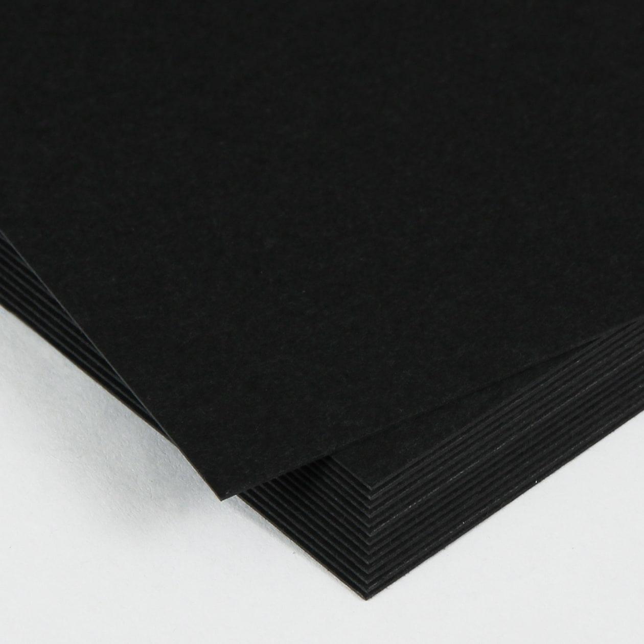 ネームカード コットン(NTラシャ) 黒 244.3g