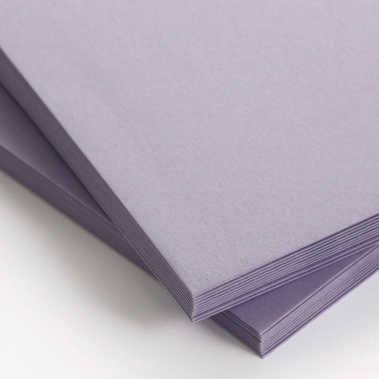 NEカマス封筒 コットン(NTラシャ) うす藤紫 116.3g