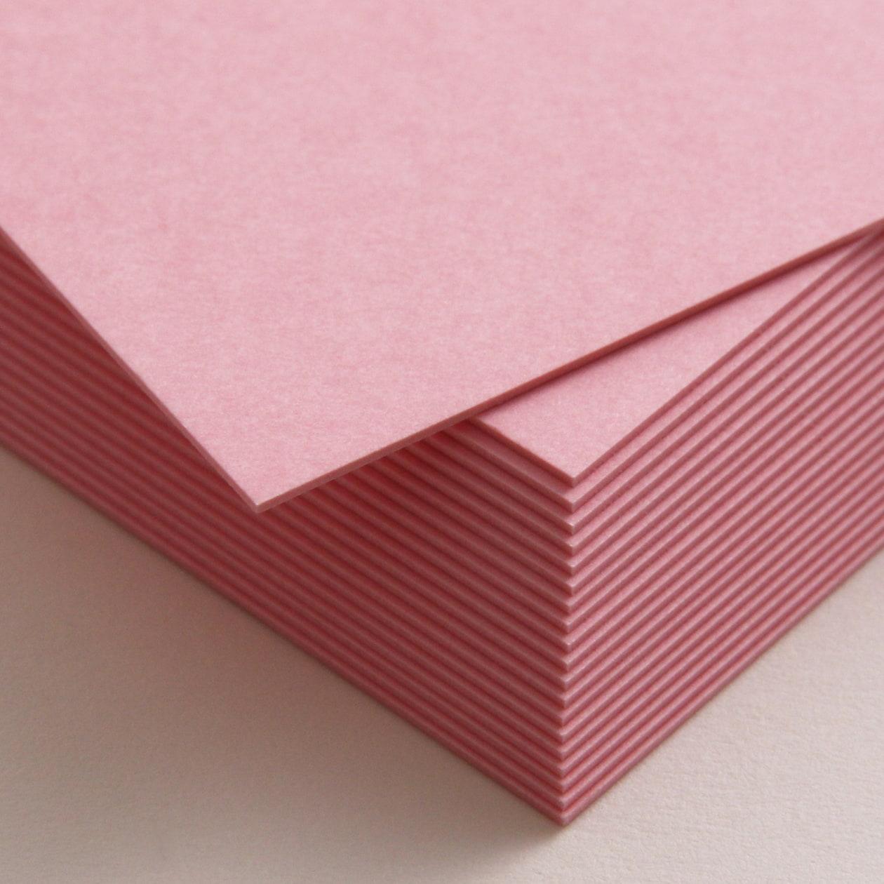 ネームカード ボード紙 ピンク 465g