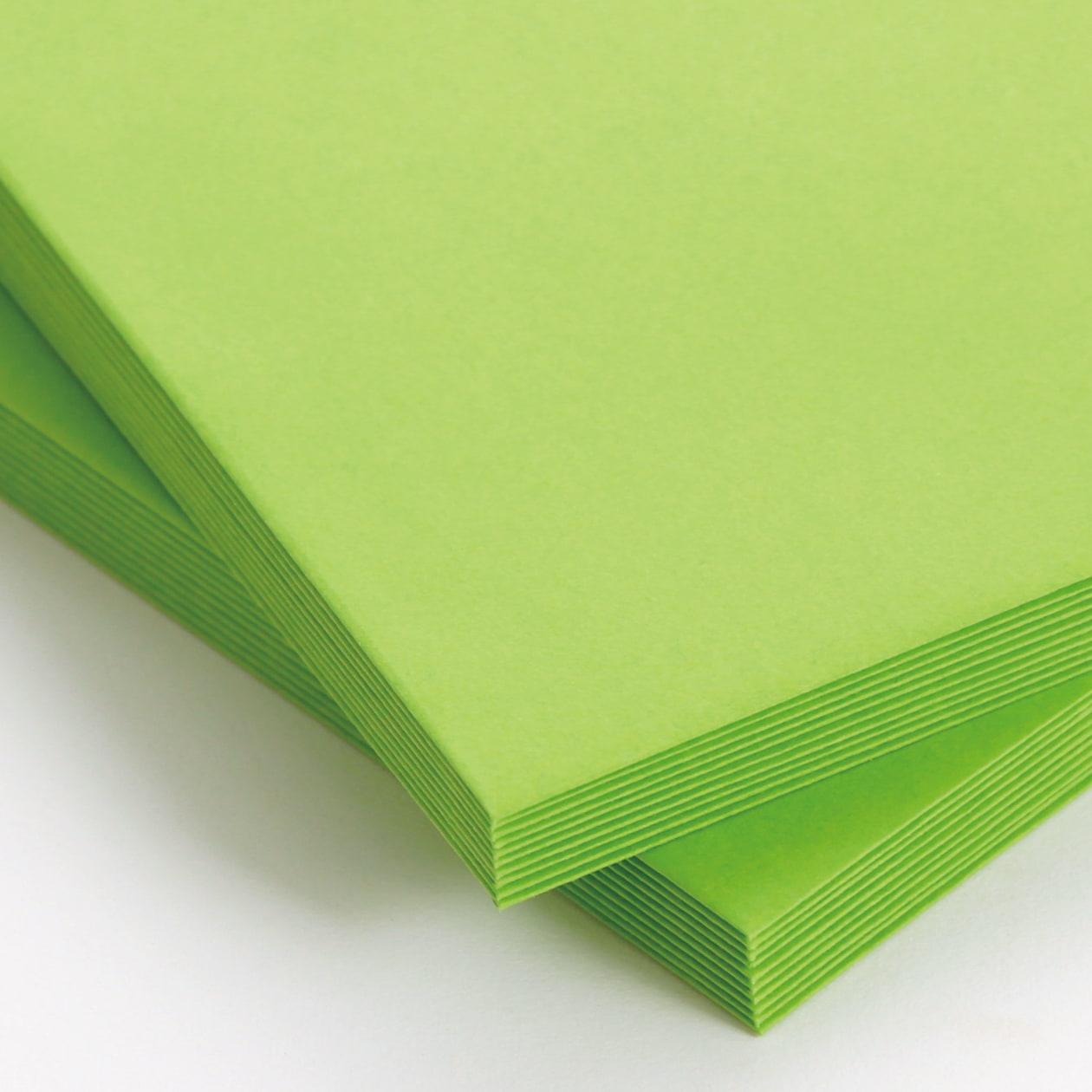 角2封筒 コニーカラー グリーン 85g