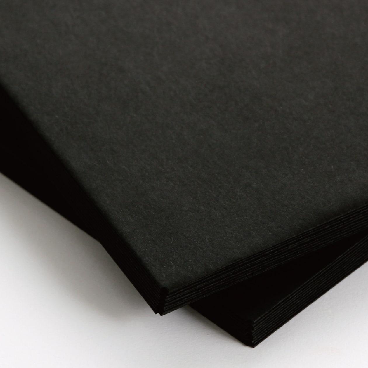 長3封筒 コニーカラー ブラック 85g