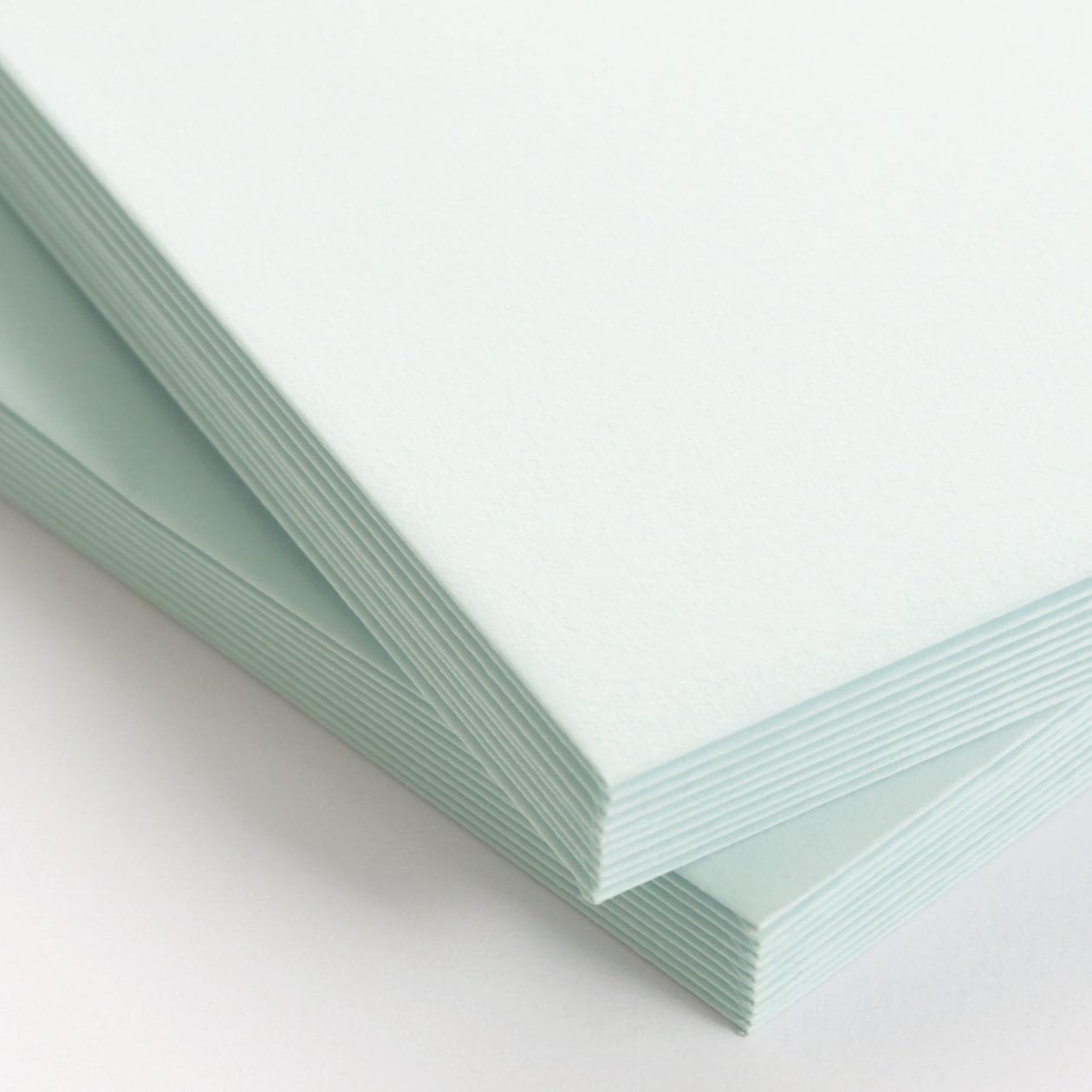 長3カマス封筒 コットン ブルー 116.3g