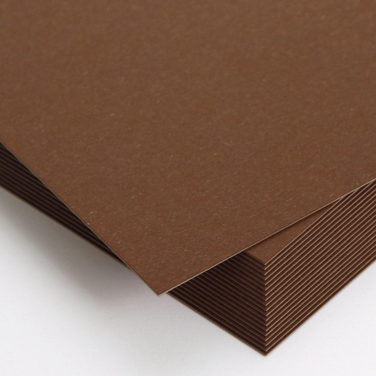 Pカード ボード紙 チョコレート 450g