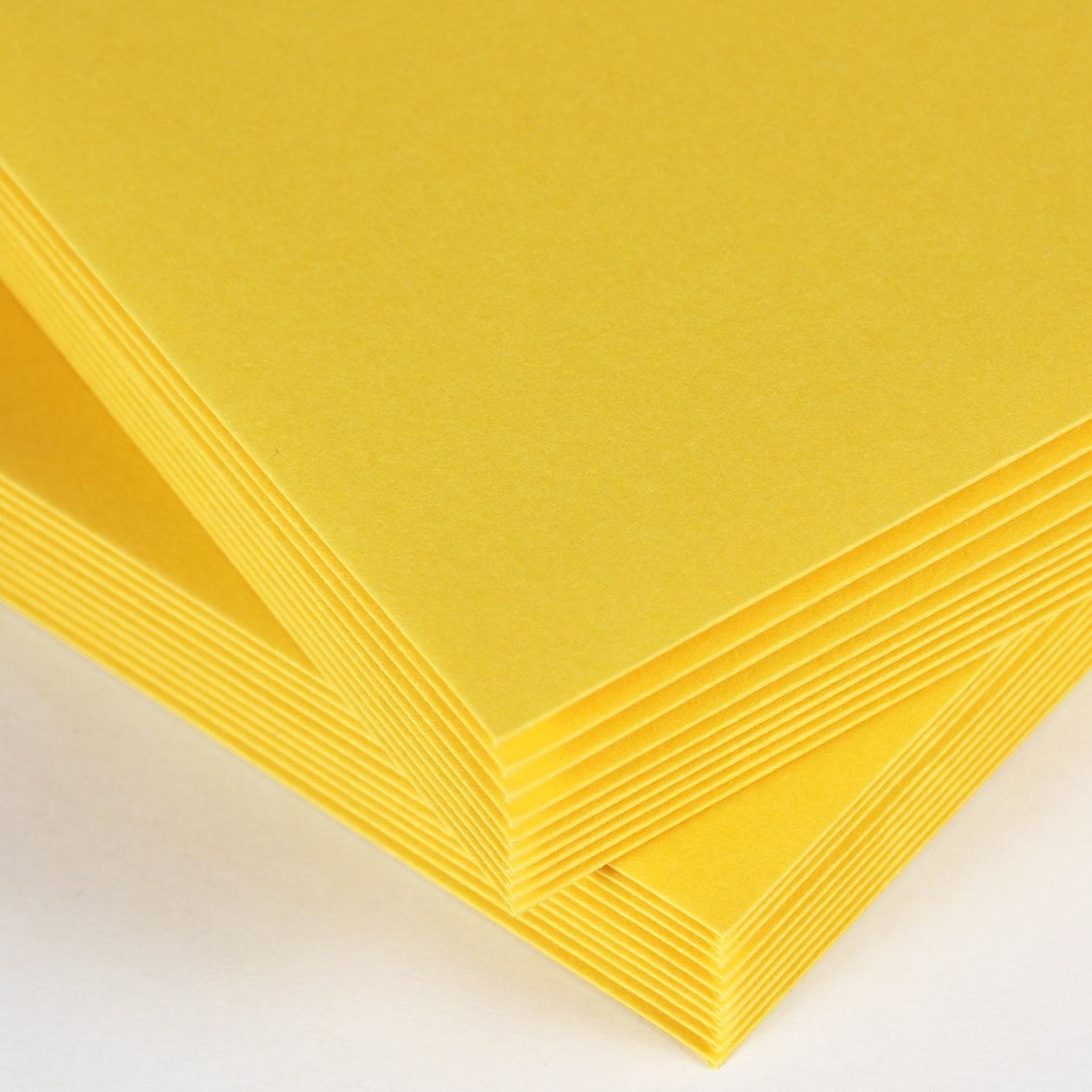 洋2カマス封筒 コットン(NTラシャ) 黄色 116.3g