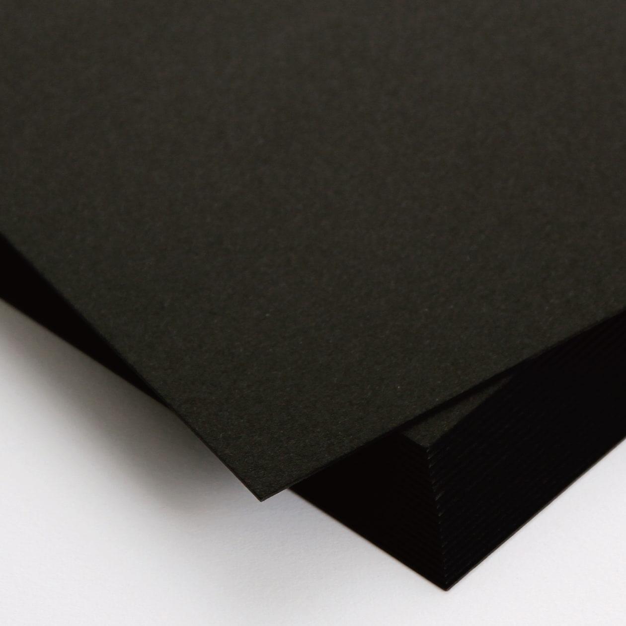 A31カード ボード紙 ブラック 464g
