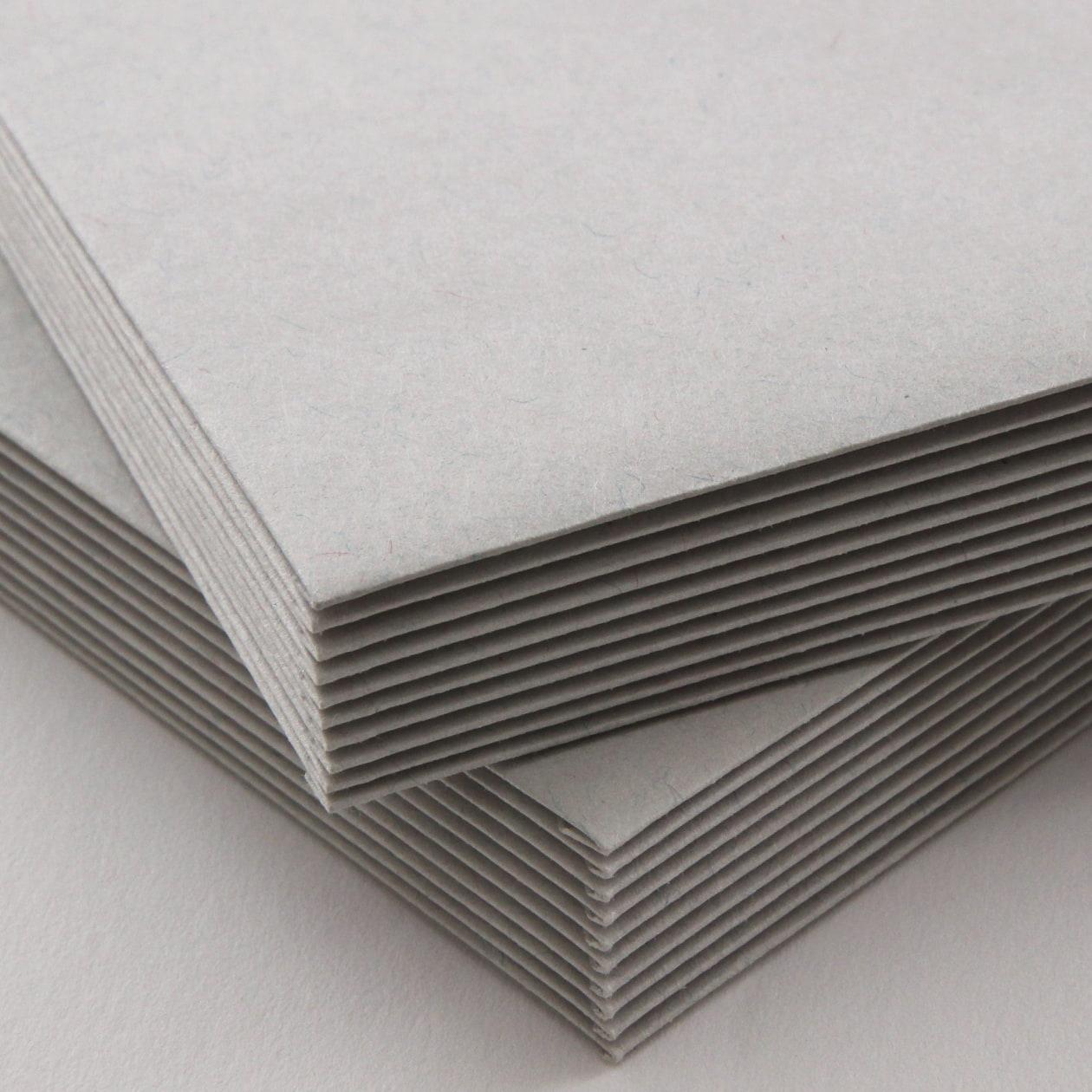 角3封筒 HAGURUMA Basic ライナーグレイ 100g