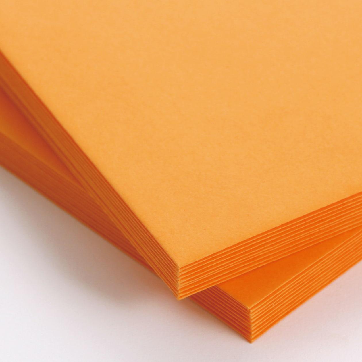 長3封筒 コニーカラー オレンジ 85g 郵便枠有