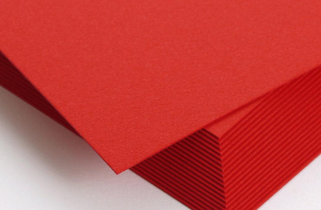 ボード紙 レッド