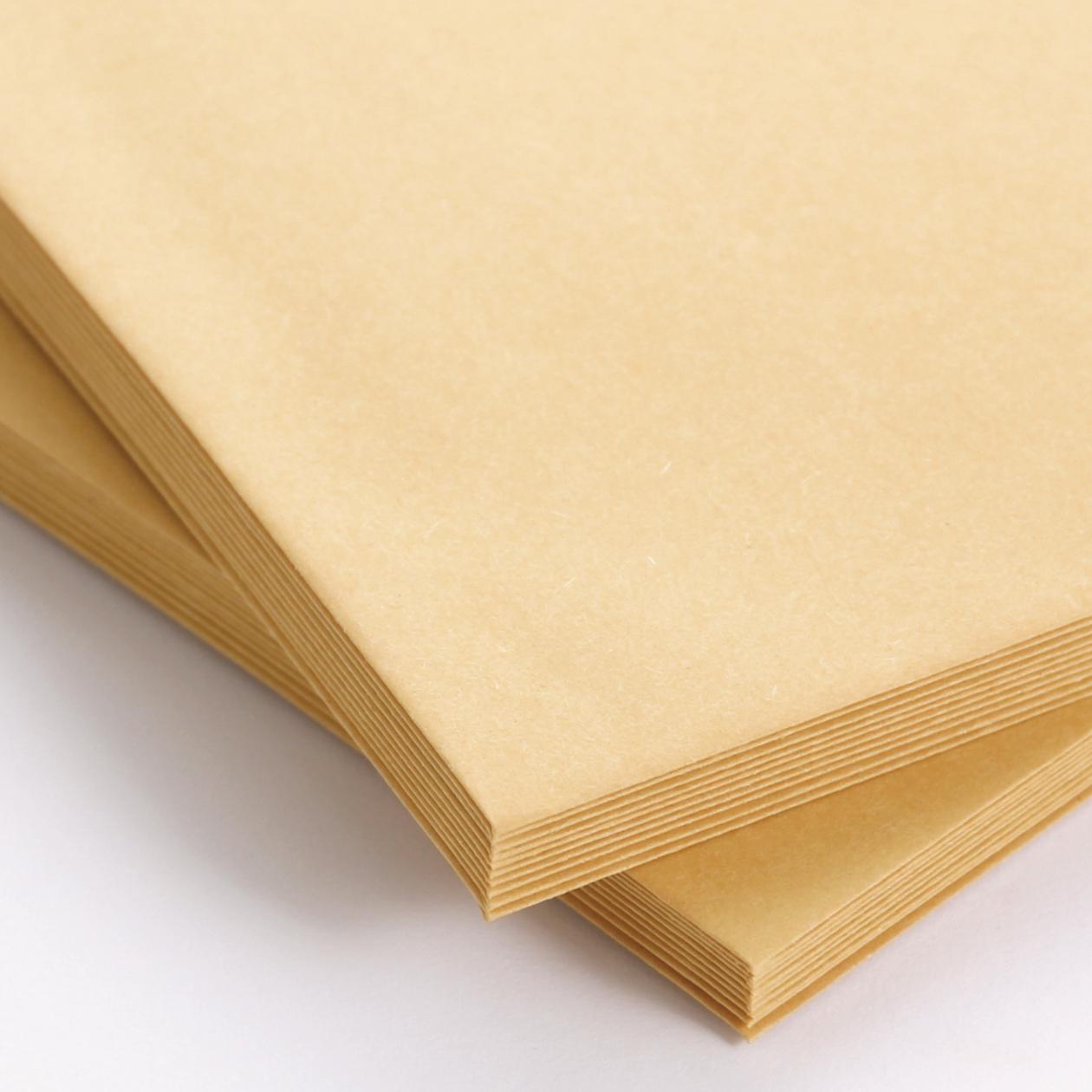 角0封筒 クラフト 85g センター貼