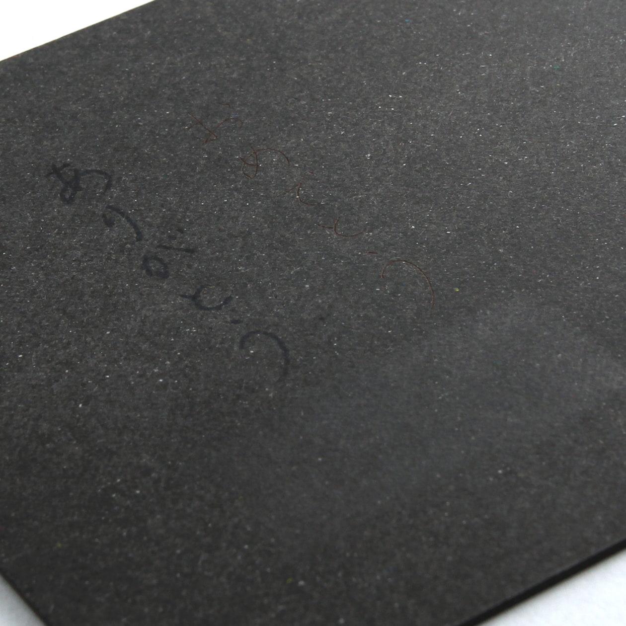 A5カード+30 ボード紙 チャコールグレー 580g