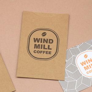 コーヒーショップのギフトカードケース