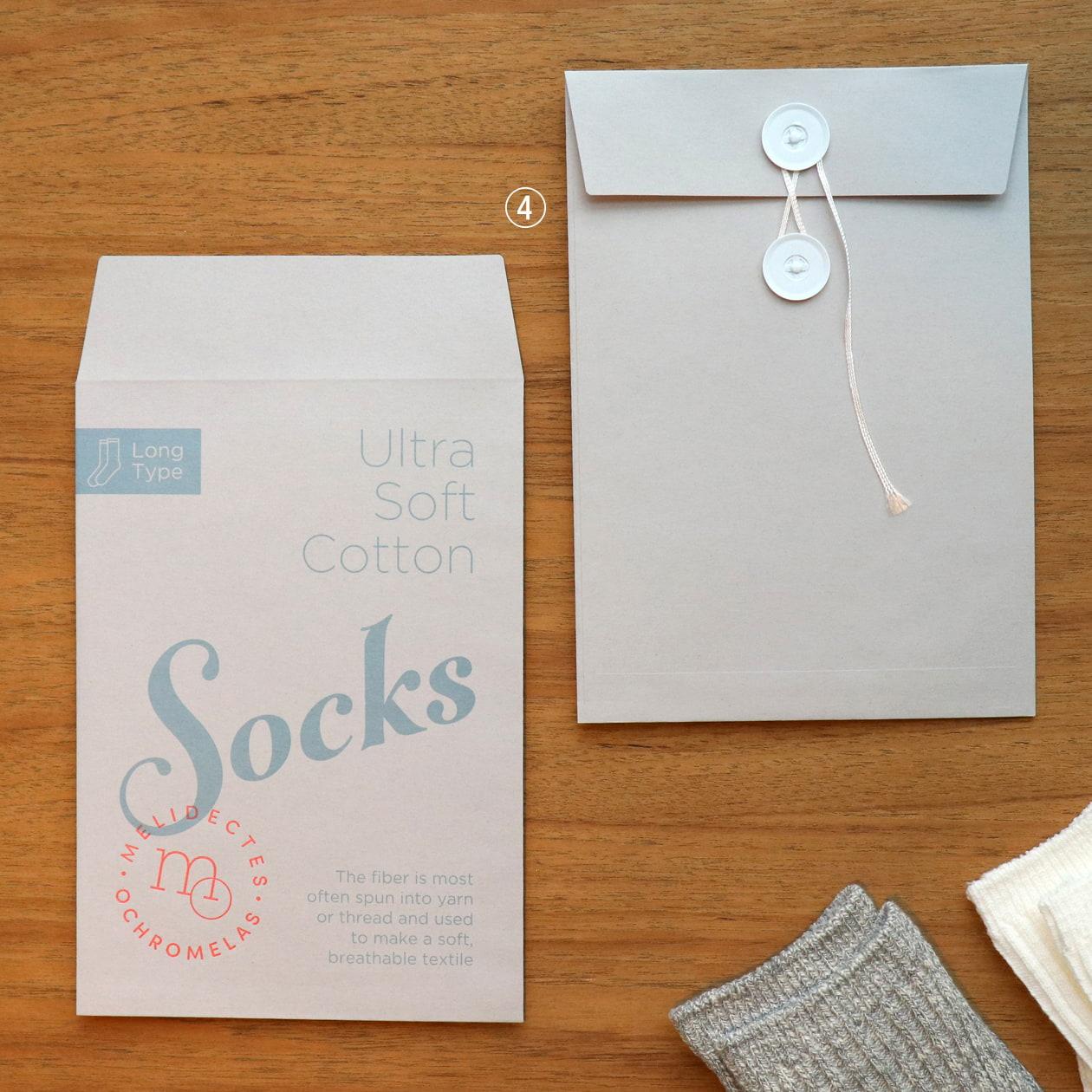 靴下のパッケージ