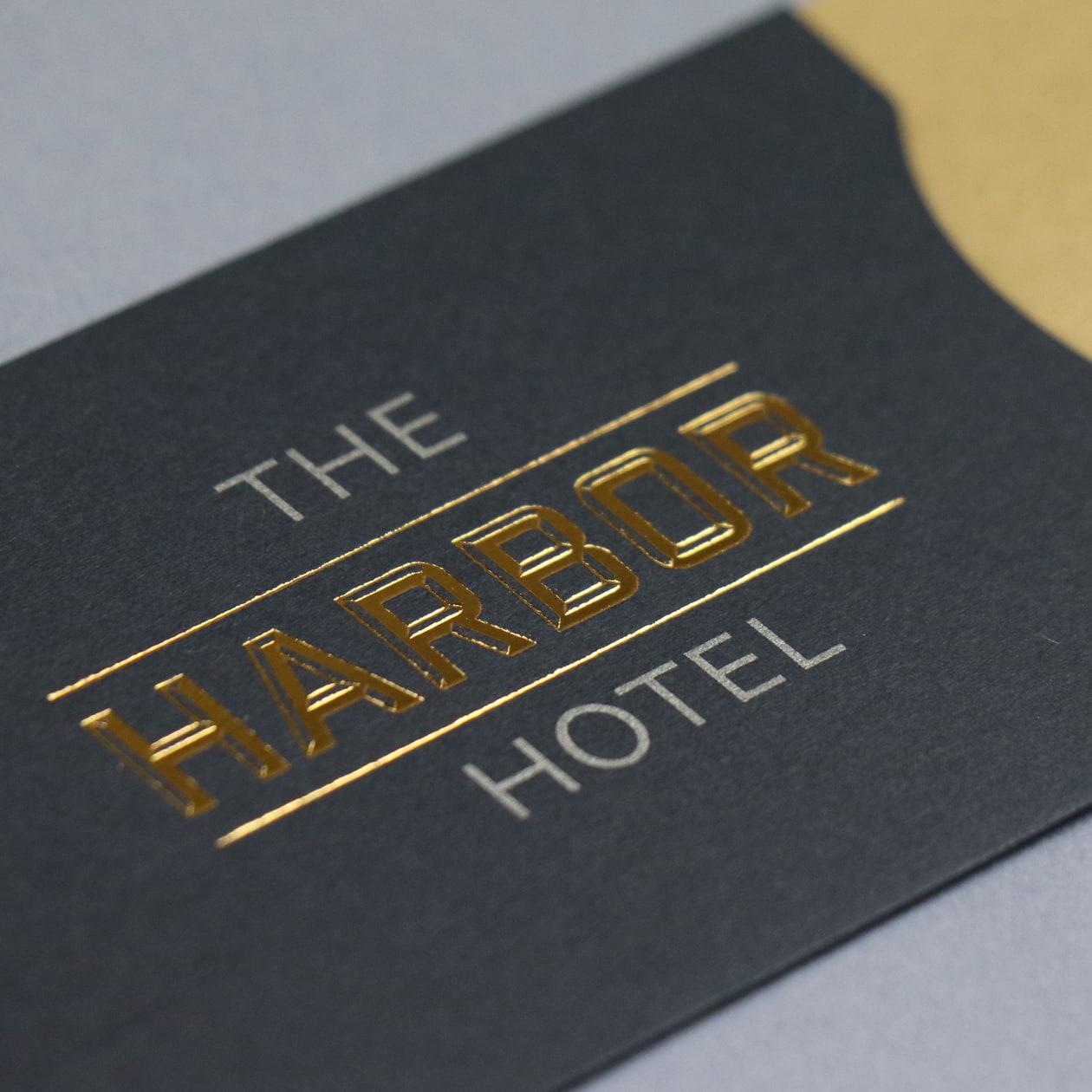 ホテルのカードキー用ケース
