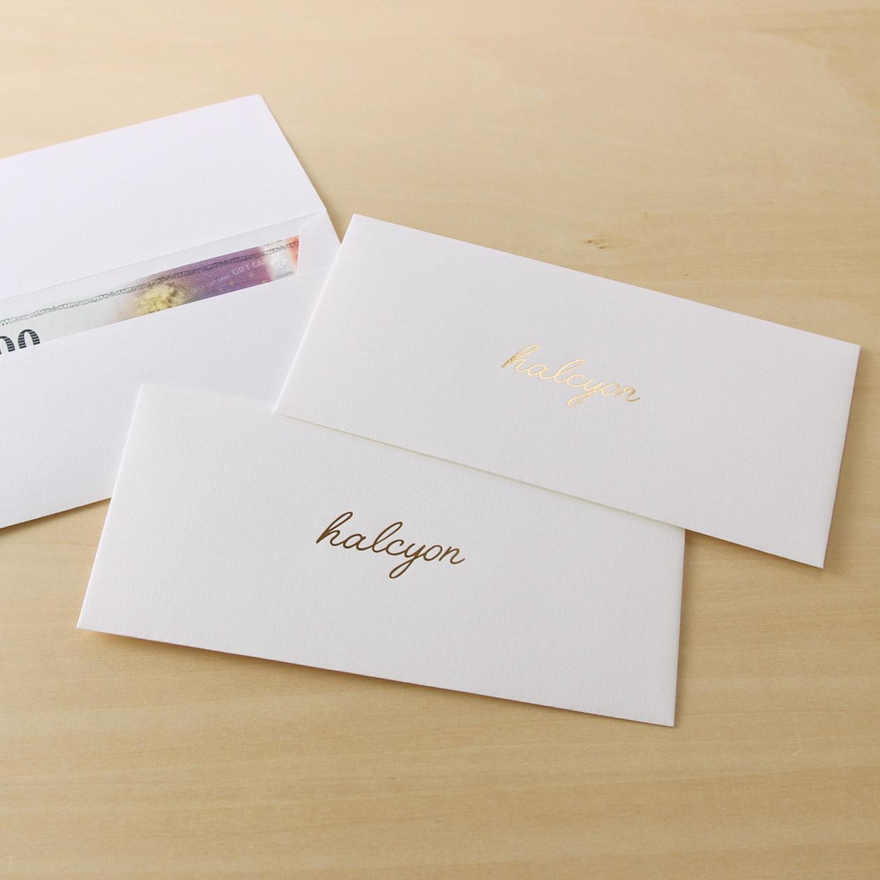 風合いの良い白の商品券袋