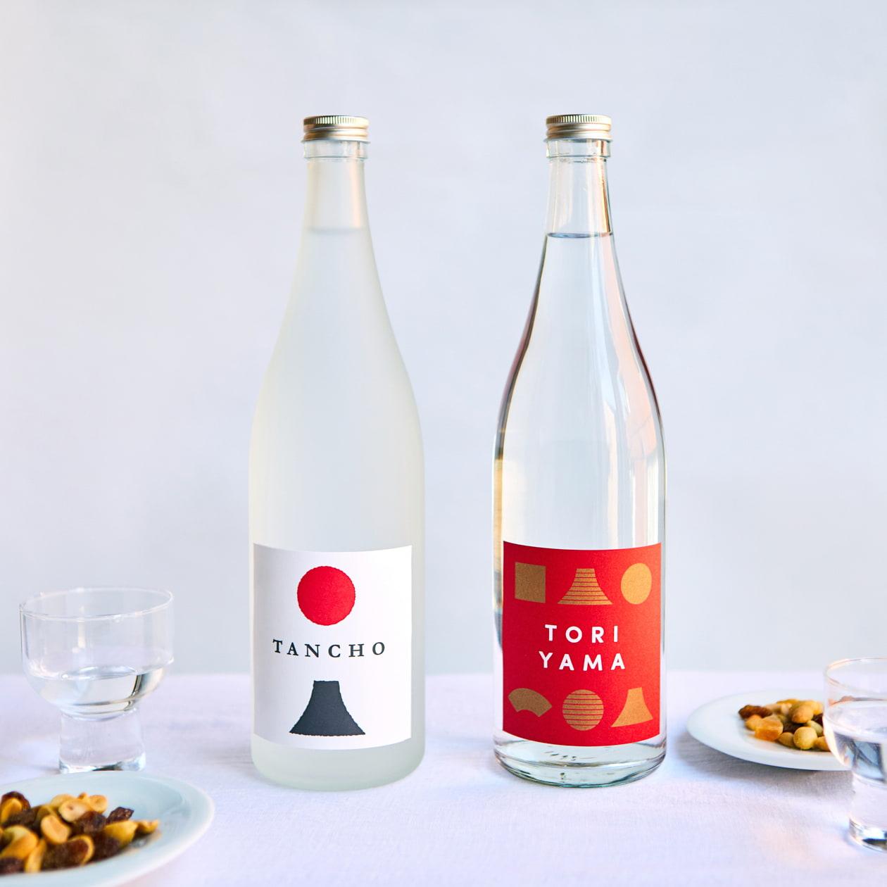日本酒のラベルシール