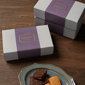 洋菓子屋の焼き菓子詰め合わせBOX帯