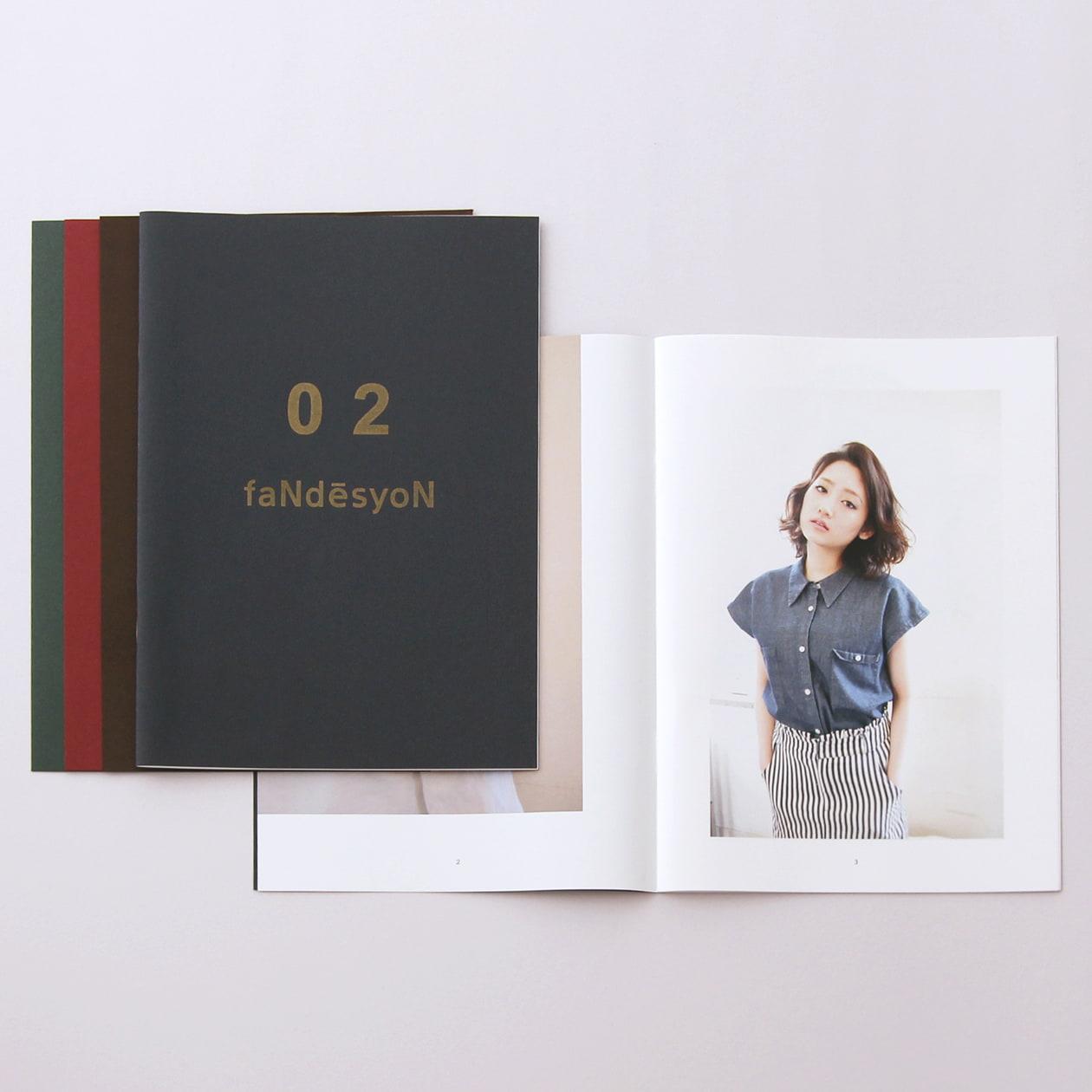 深みのある色の表紙で高級感のある冊子