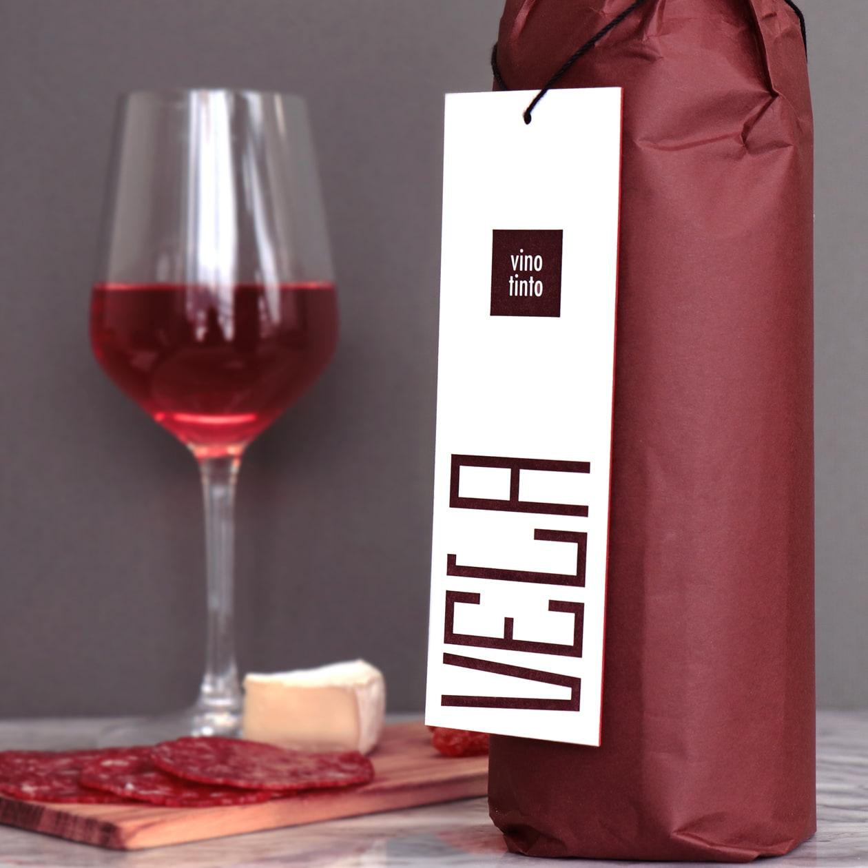 ワインのギフト用タグ