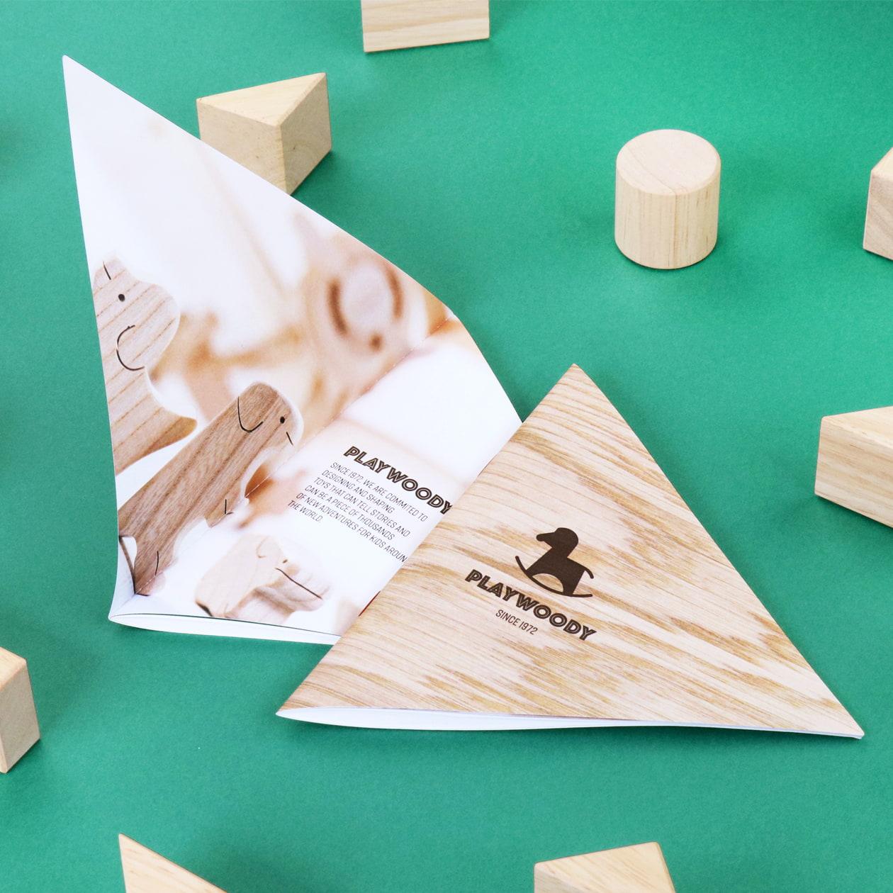 木製おもちゃメーカーの商品カタログ