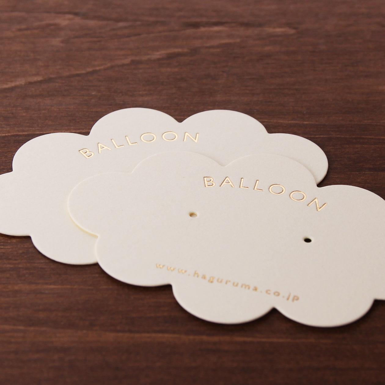 雲の形のオリジナル型