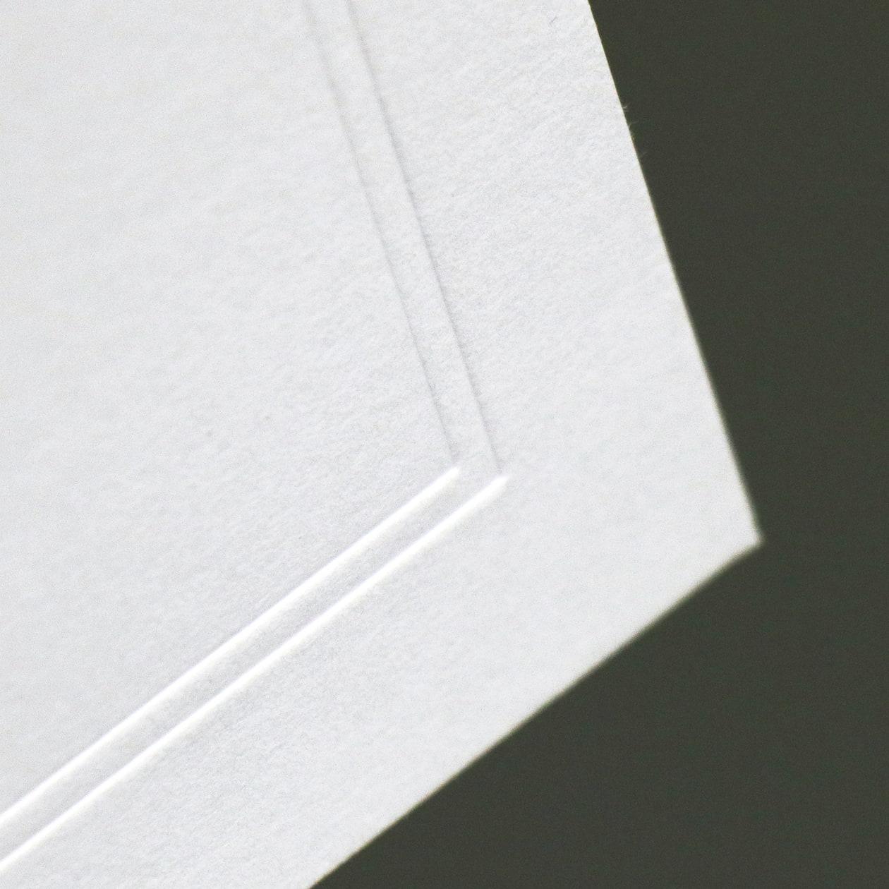 正方形カードの案内状