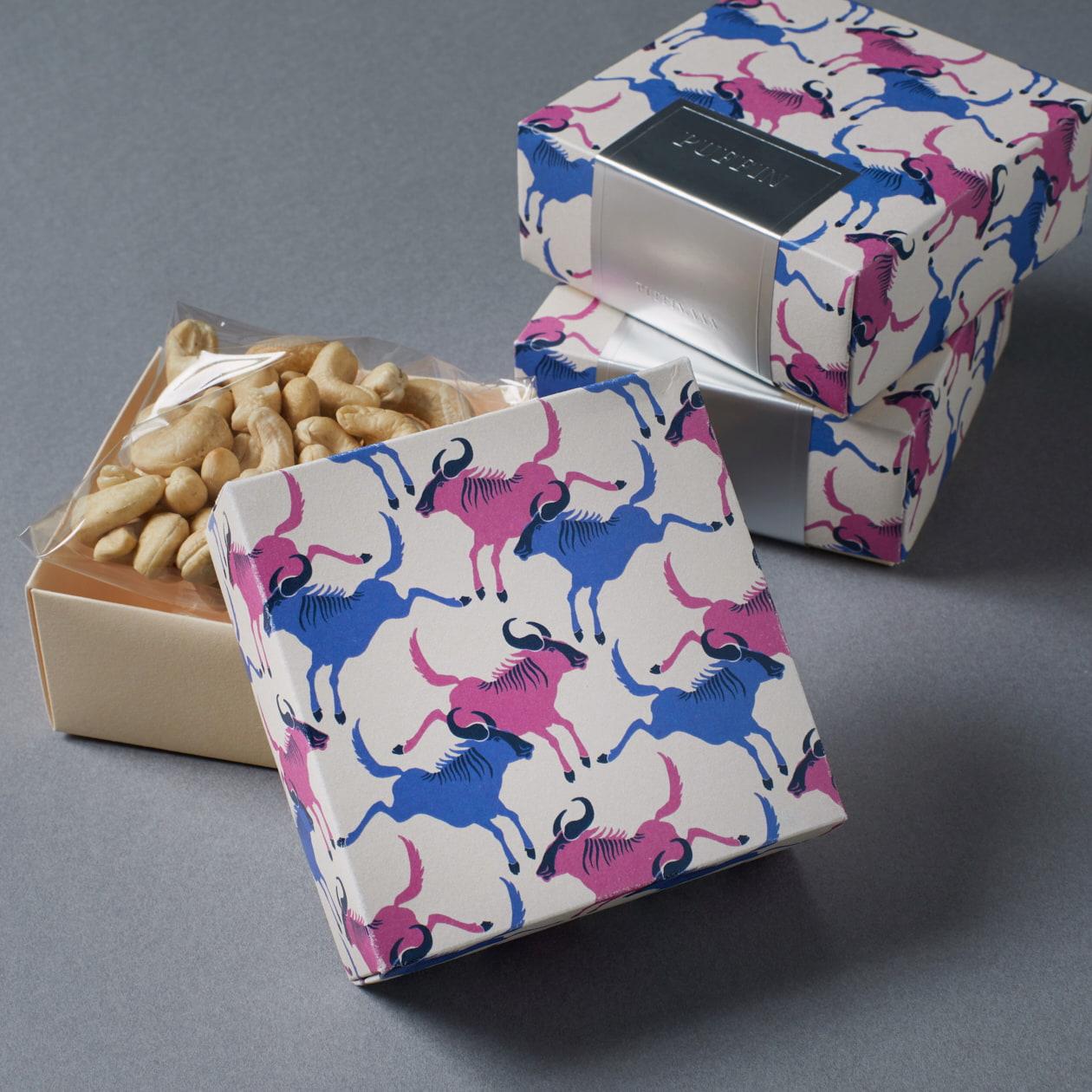 高級ドライフルーツ&ナッツの商品パッケージ