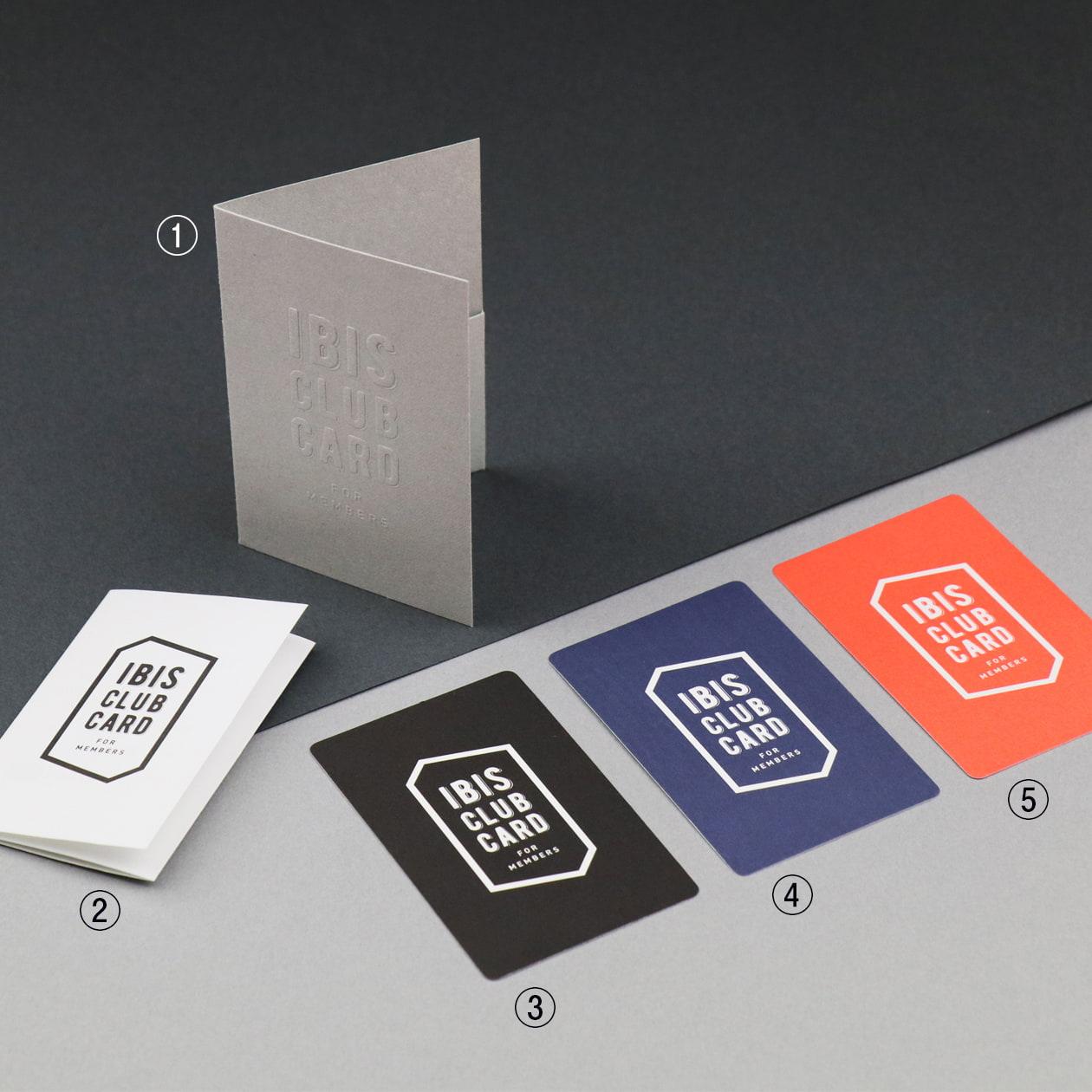 会員カード用フォルダー