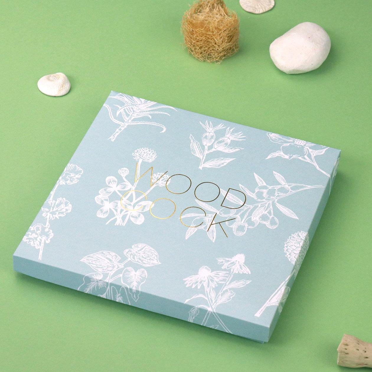 タオルと入浴剤のセットパッケージ