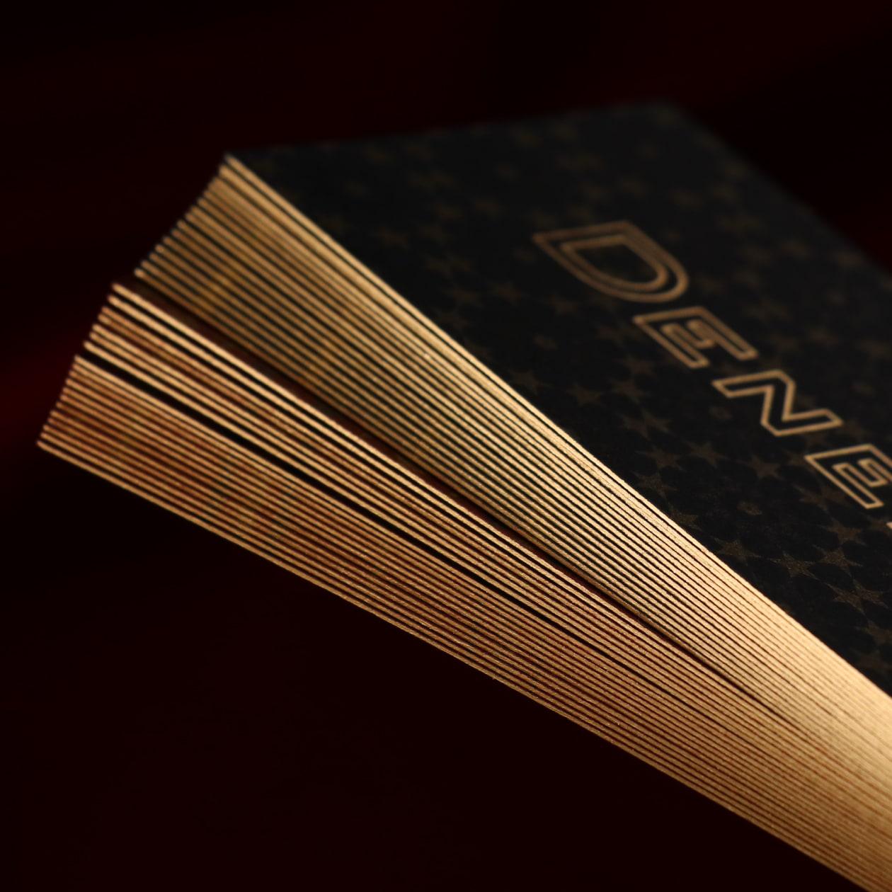 ヴィンテージジュエリーブランドのショップカード