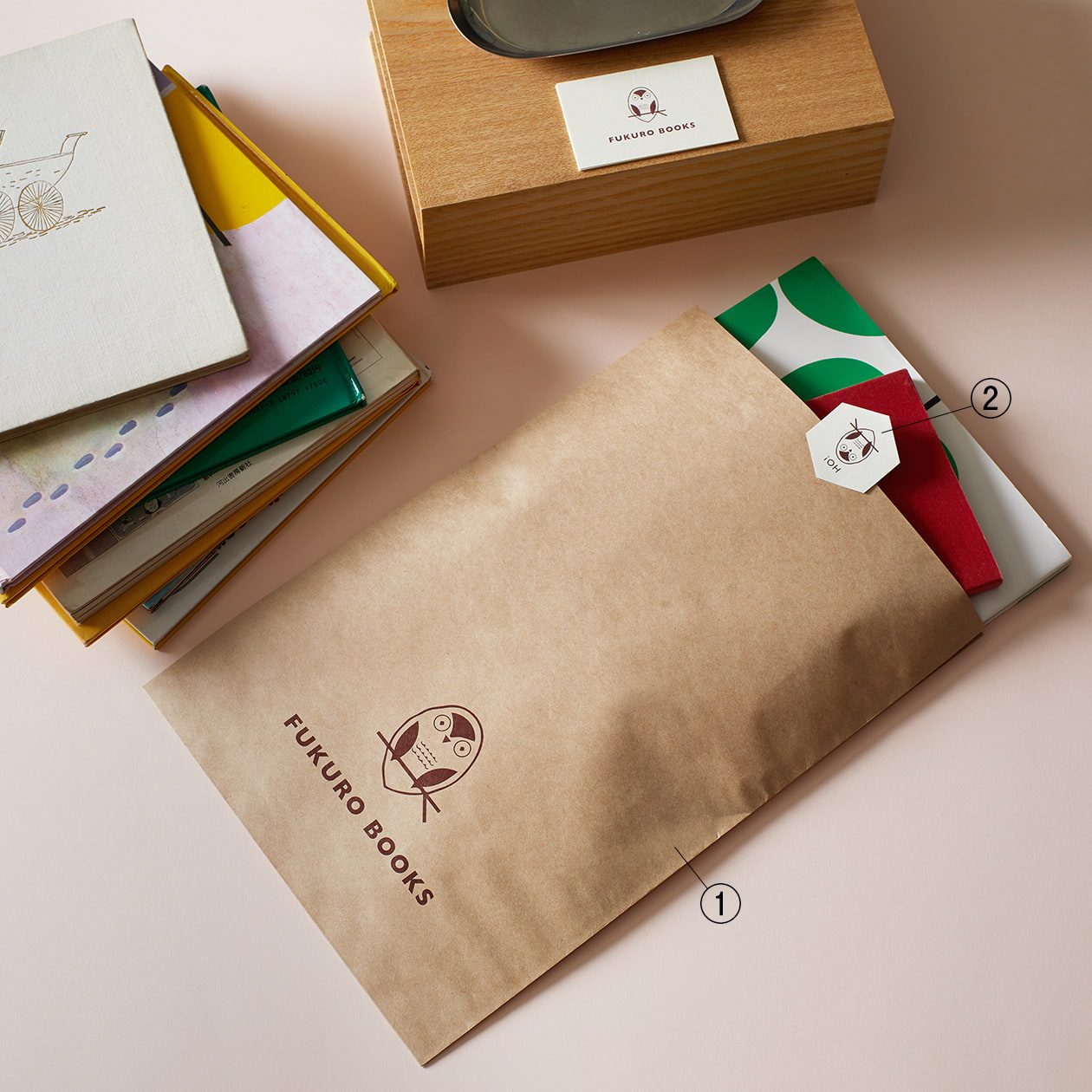 書店のレジ袋