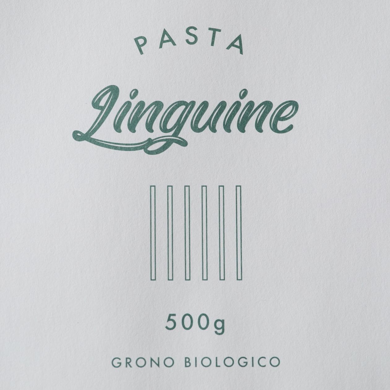 イタリアン食材店のパスタ袋