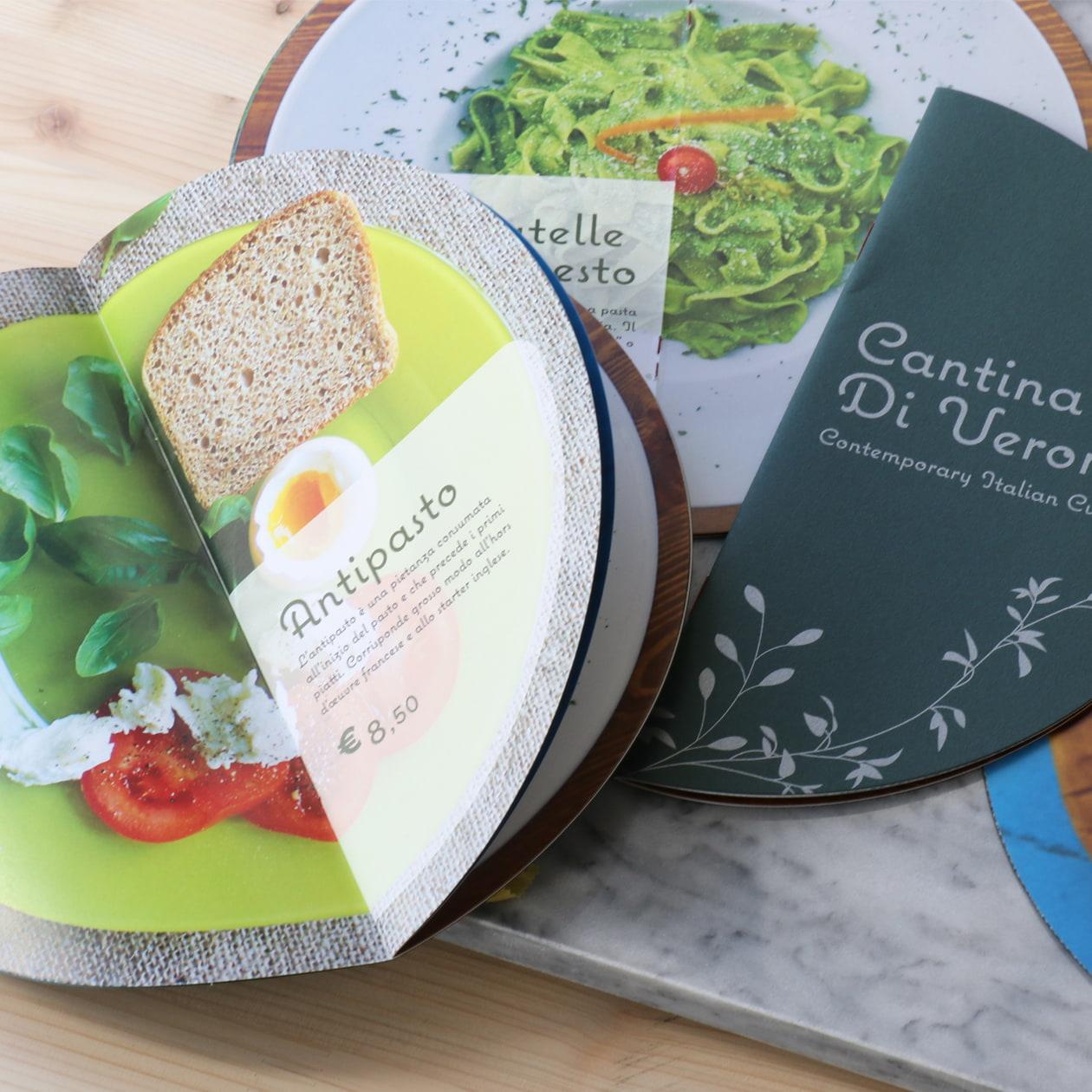 商品を使ったレシピを紹介する冊子